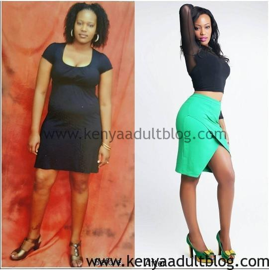 Kenyan Model Lucy Muturi Sexy Photos