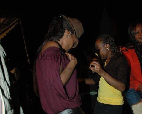 Kenyan Mini skirt dancing lesbians