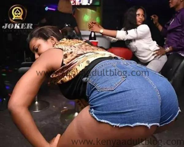 Kenyan Lady Twerking in Club