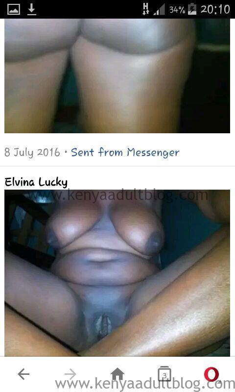 Elvina Lucky Boobs Photos