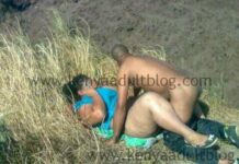 Sexy Kenyan Students CAUGHT In Nude Act In The Bush