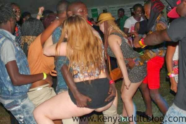 white lady fucked in kenyan club