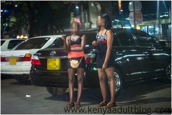 Nairobi Prostitutes at Night