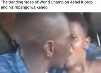 The Trending Video of World Champion Asbel Kiprop and His Mpango Wa Kando