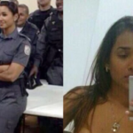 Gang Leaks Naked Pics of Military Cop Julia Liers After She Arrested their Ring Leader