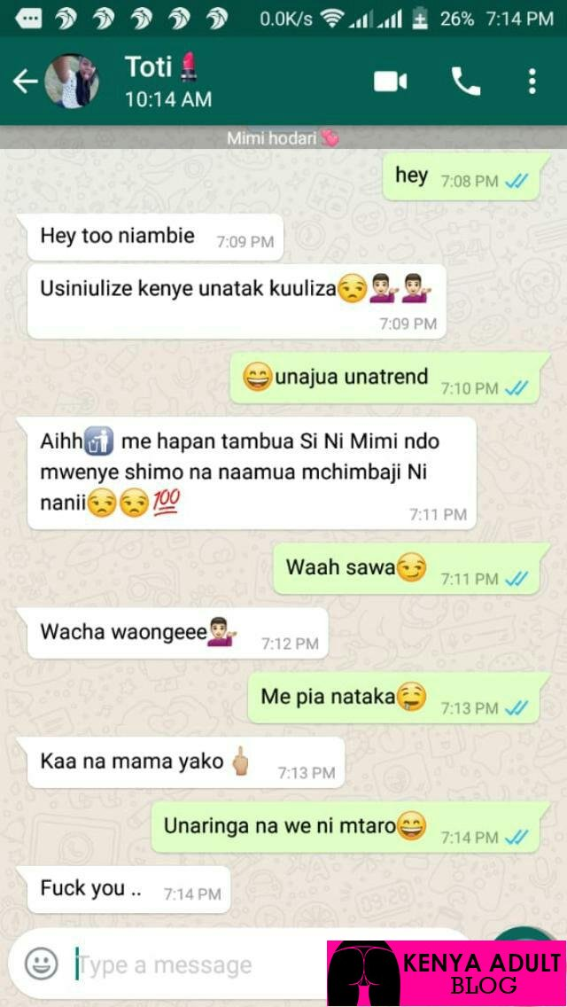 Toti from junior KTN confirms leak sex tape is hers!