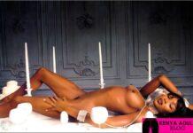 Naomi Campbell Nudes Photography: Erotic Ebony Boobs