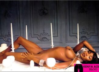 Naomi Campbell Nudes Photography: Erotic Ebony Boobs