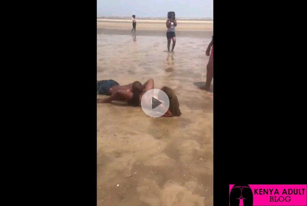 Kenyan Public Beach Porn: Beach Pussy Licking
