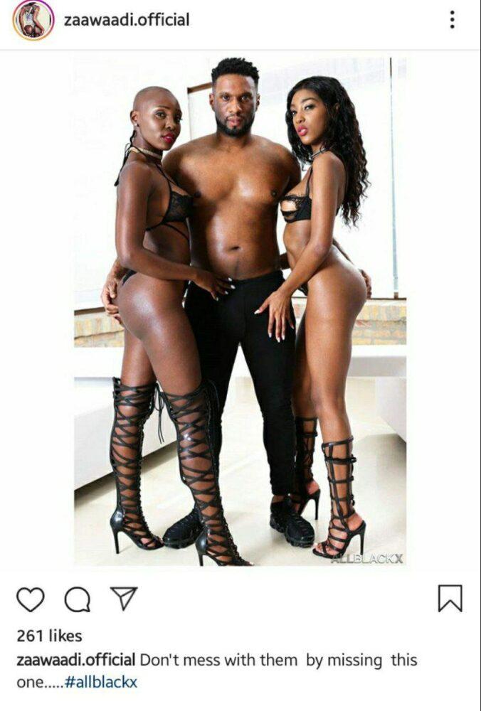 Zaawaadi Threesome Photo